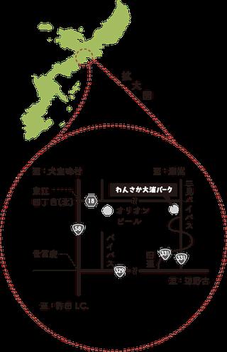 地図:拡大図